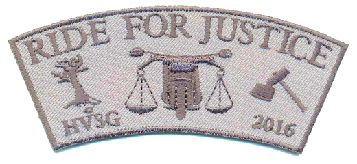 Ride For Justice 2016 patch